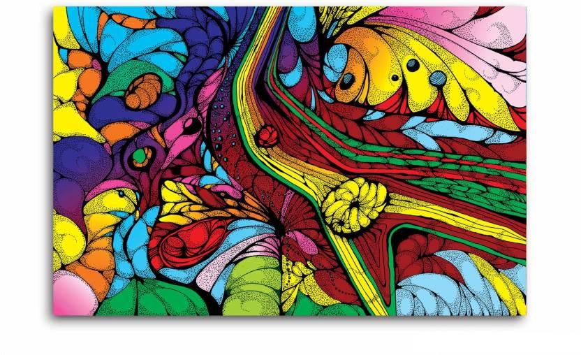 Tamatina Tamatina Canvas Paintings Colorful Abstract Art