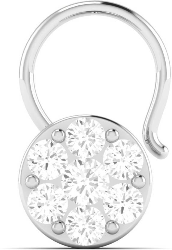 VIJISAN 0 13 CT Round Designer Collection Real Gold 14kt Diamond