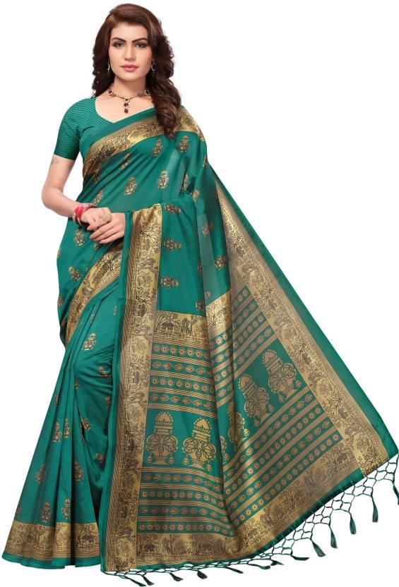 308874b98 Buy Ecolors Fab Printed Fashion Poly Silk
