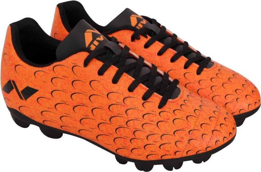 250996cc7a29 Nivia Encounter 4 Football Shoes For Men - Buy Orange Color Nivia ...