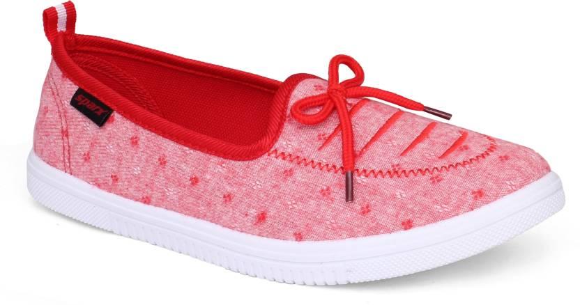 1fdc789fbfcc Sparx Women SL-115 Red White Slip On Sneakers For Women - Buy Sparx ...