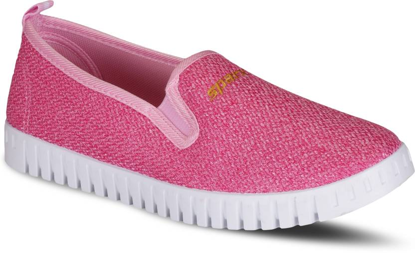 b67333b024888 Sparx Women SL-114 Pink White Slip On Sneakers For Women - Buy Sparx ...