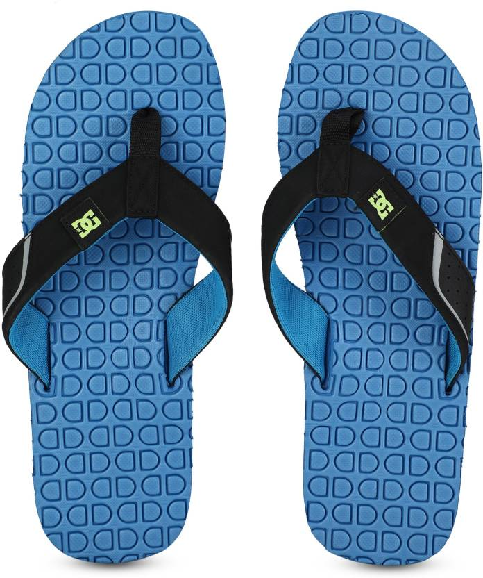 36fcda658 DC KUSH Slippers - Buy BRIGHT BLUE Color DC KUSH Slippers Online at Best  Price - Shop Online for Footwears in India