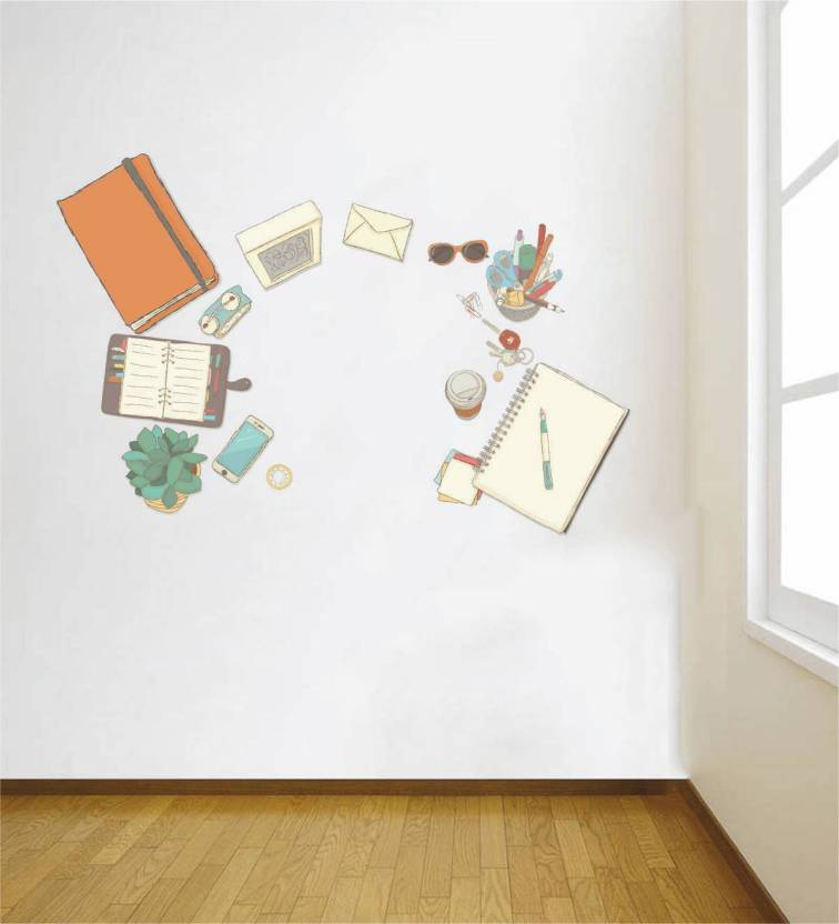 rawpockets large wall sticker sticker price in india - buy