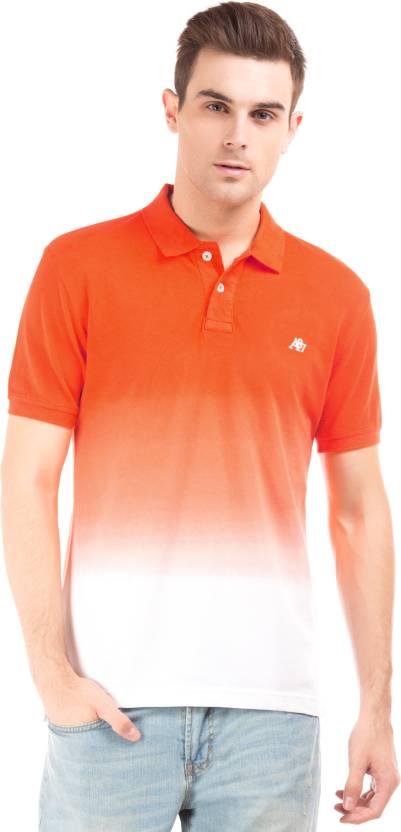 f196762e3 Aeropostale Printed Men Polo Neck Orange T-Shirt - Buy Aeropostale Printed  Men Polo Neck Orange T-Shirt Online at Best Prices in India | Flipkart.com