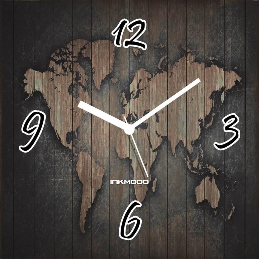 80e13a4ea1a INKMODO Analog 30 cm X 30 cm Wall Clock Price in India - Buy INKMODO ...