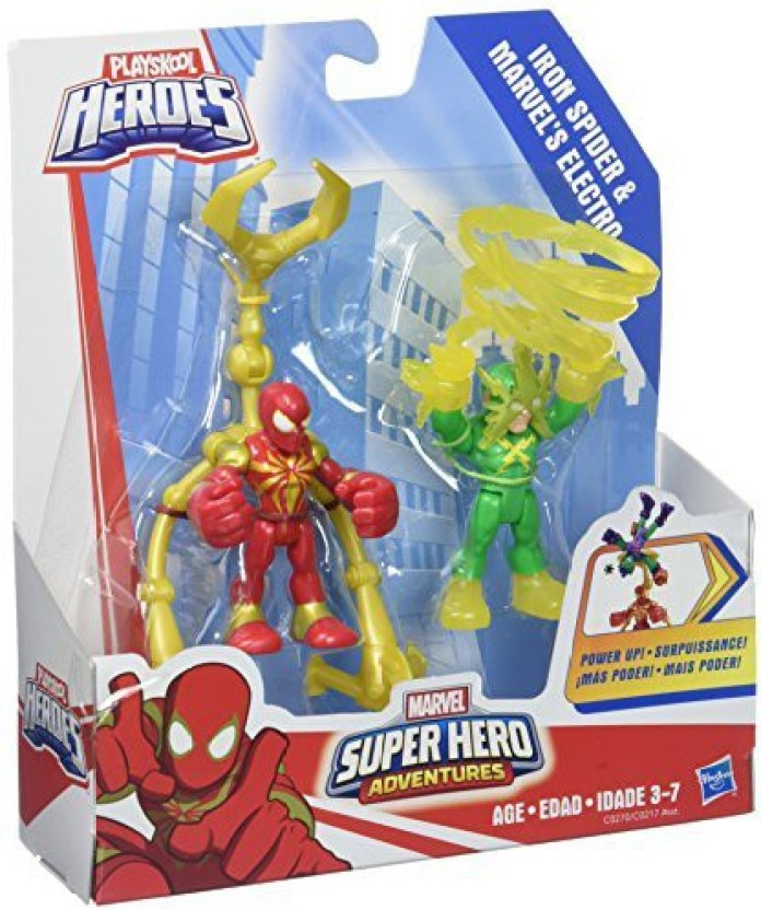 Playskool Héros Marvel Super Hero Adventures Ultimate Super Hero Set New In Box