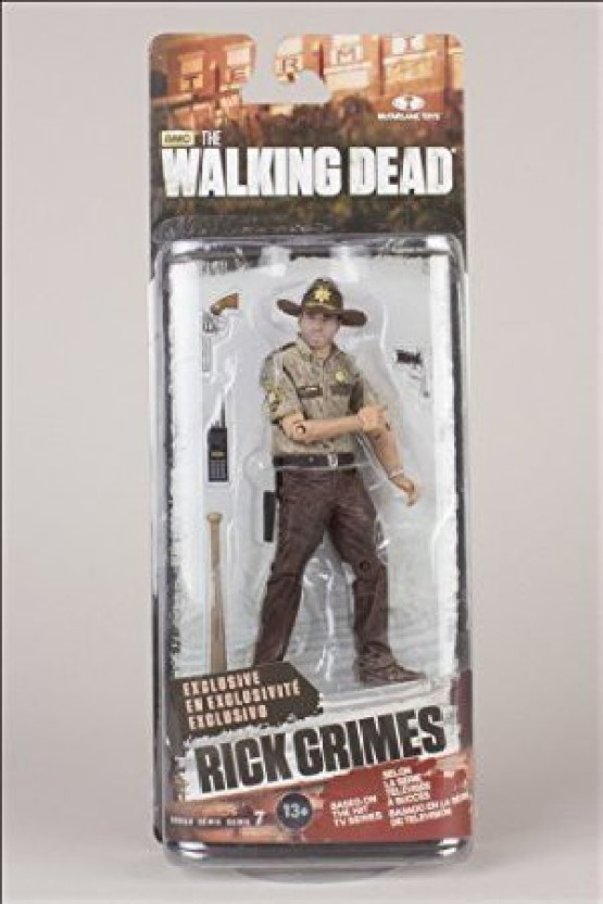 McFarlane Walking dead Figurine Rick grimes Exclusive