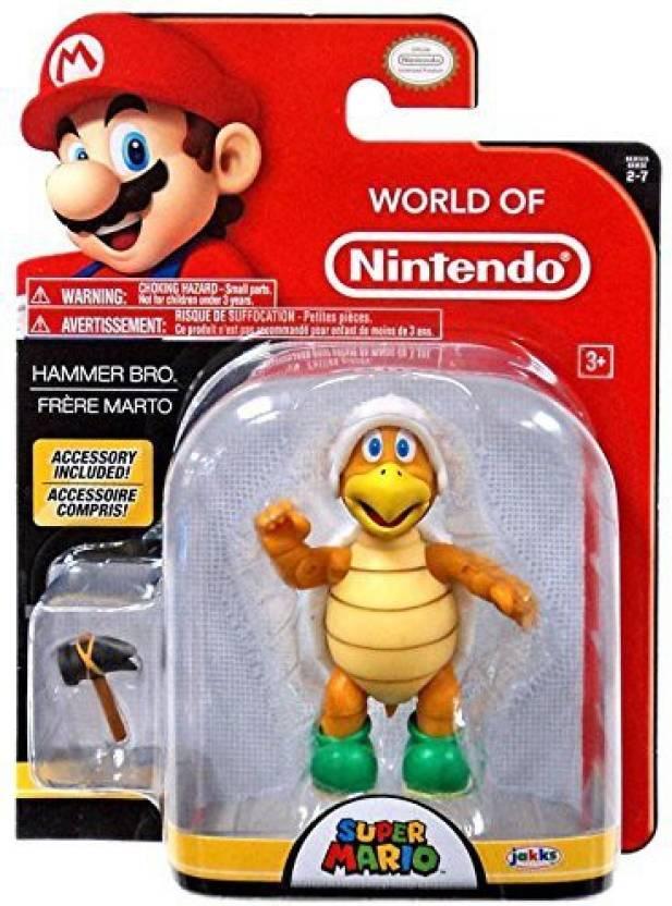 Nintendo World 4 Hammer Bros Hammer Toy Figure World 4 Hammer