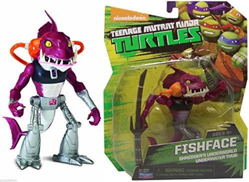 Playmates Teenage Mutant Ninja Turtles TMNT FISHFACE Action