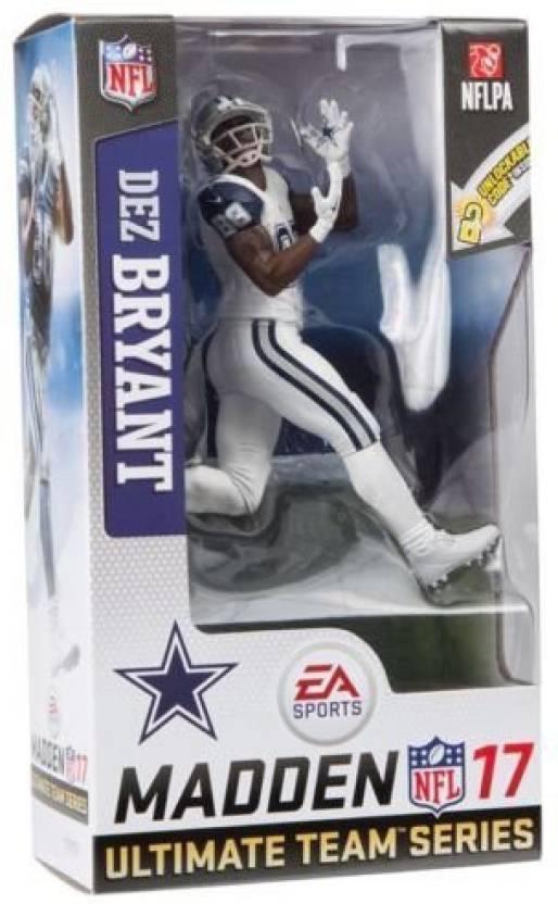 Mcfarlane Dez Bryant White Jersey Color Rush Dallas Cowboys Madden 17 NFL  Action Figure (Multicolor) db5739684