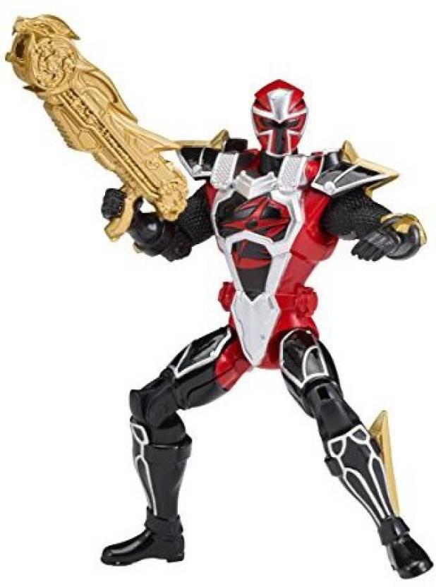 Power Rangers Super Ninja Steel Red Ranger Cockpit Mode