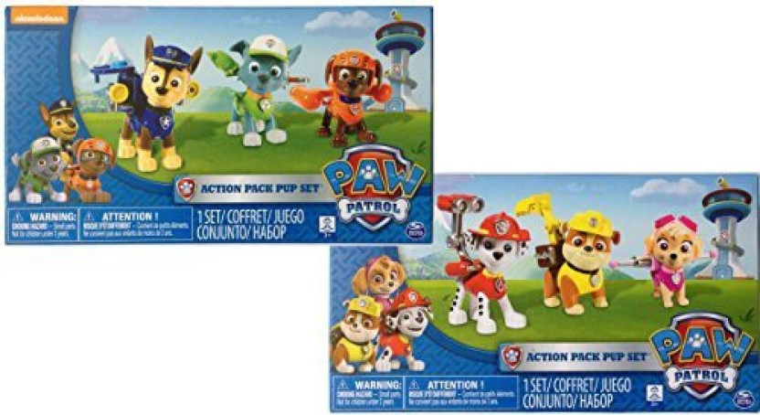Spin Master Nickelodeon PAW PATROL RACERS LOT OF 3 Marshall Chase Rubble NEW!