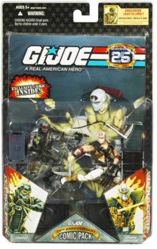 G I  Joe G I  JOE Hasbro 25th Anniversary 3 3/4