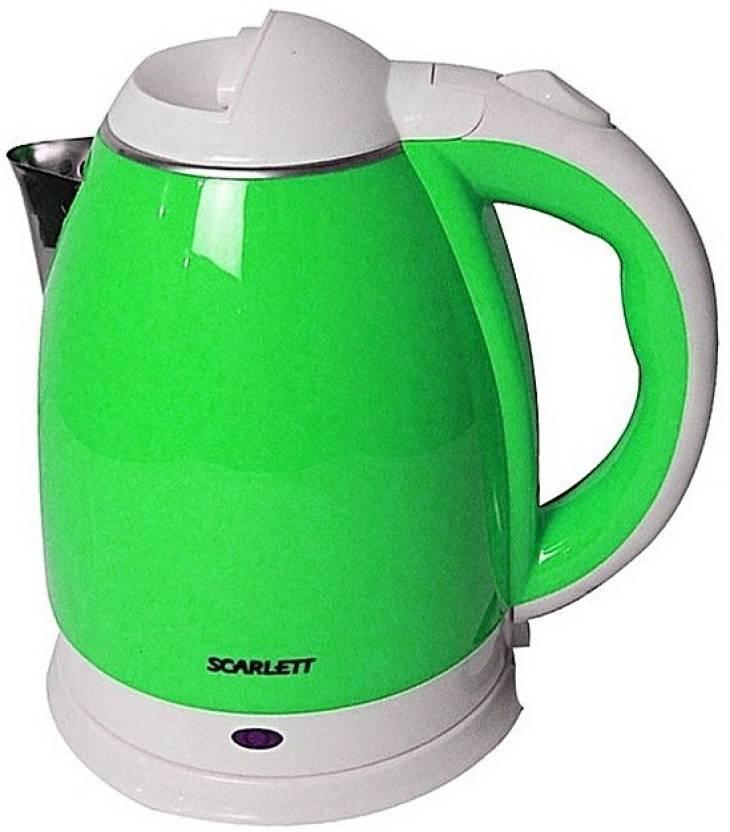 adbd697abf6 Scarlett LM -44 Hot Water Pot Portable Boiler Tea Coffee Warmer Heater  Cordless Electric Kettle Electric Kettle (2 L
