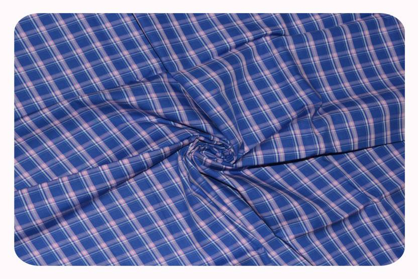 135749f9dc9 Raymond Pure Cotton Checkered Shirt Fabric Price in India - Buy ...