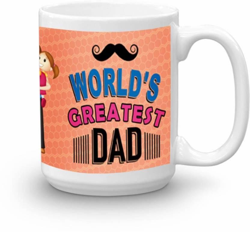 Albatraoz FATHERS DAY CUP 1 Ceramic (200 ml) Ceramic Mug