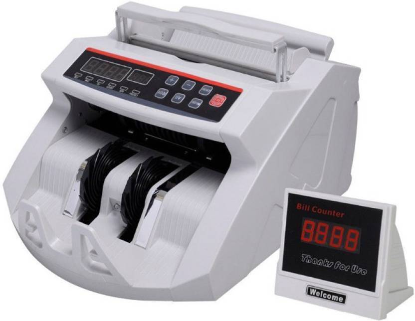 Mezire ELECTRO LCD Display Money Bill Counter Counting