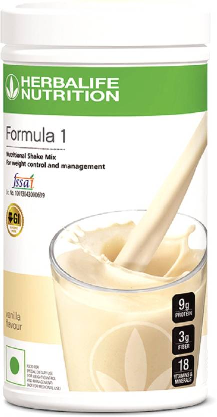 herbalife nutrition formula 1-vanilla shake protein blends price in