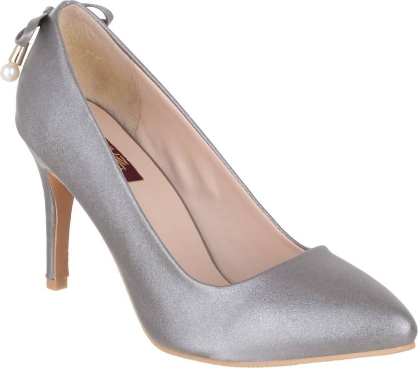 fd098e996795 Shuz Touch Women GREY Heels - Buy Shuz Touch Women GREY Heels Online at  Best Price - Shop Online for Footwears in India