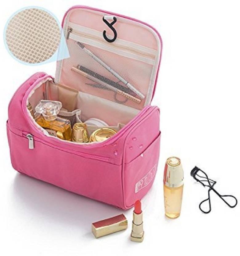 1a951482fc62 Kanha Portable Beauty Organizer Case, Toiletry Cosmetic Bag Men ...