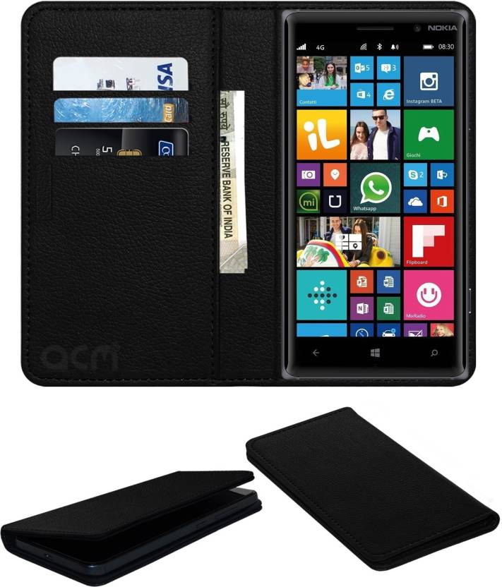 finest selection c4c24 d7cb6 ACM Flip Cover for Nokia Lumia 830 - ACM : Flipkart.com