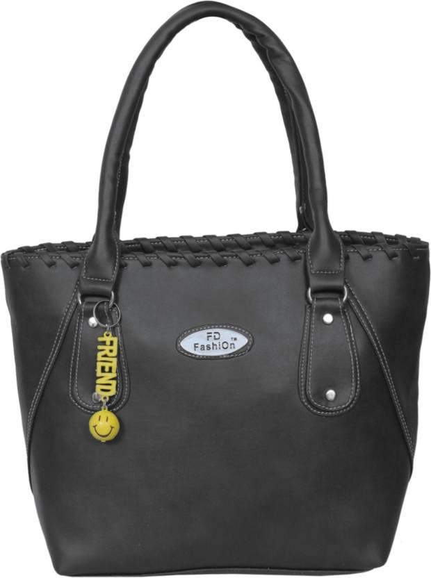 607b76c7e224 Buy FD Fashion Soft Shoulder Bag Black Online   Best Price in India ...