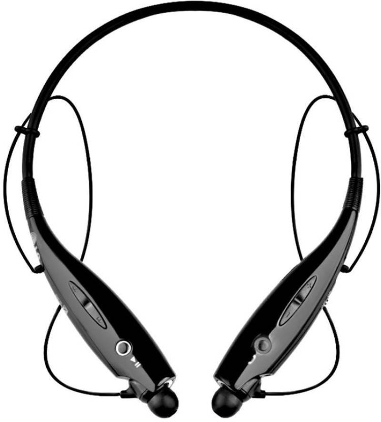 4019d8d9f25 Teleform HBS 730 Bluetooth Headset For MI Bluetooth Headset with Mic  (Black, In the Ear)