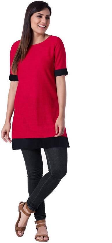 a9cac0cc0b397 Hetvi Creation Formal Solid Women Maternity Wear Kurti - Buy Hetvi ...