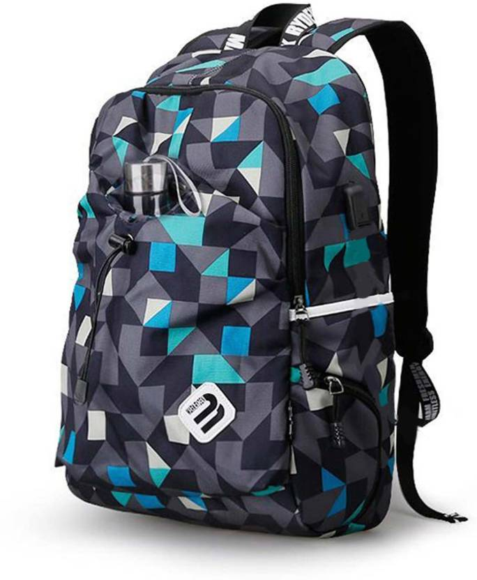 MARK RYDEN 15 inch Inch Laptop Backpack Blue Cube - Price in India ... 431122ca4eda5