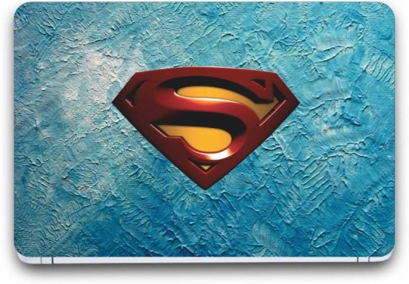 i-Birds Superman Wallpaper Exclusive Laptop Skin Sticker Decal Wallpaper (15 Inch x 10