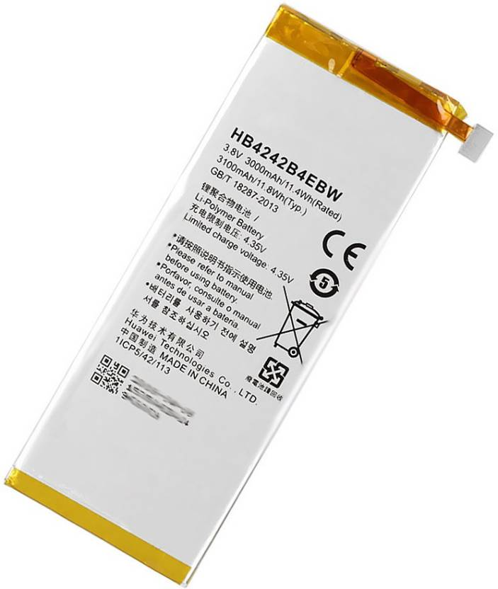 Fliptron Mobile Battery For Huawei Honor 6 H60 L04 3000mah Price