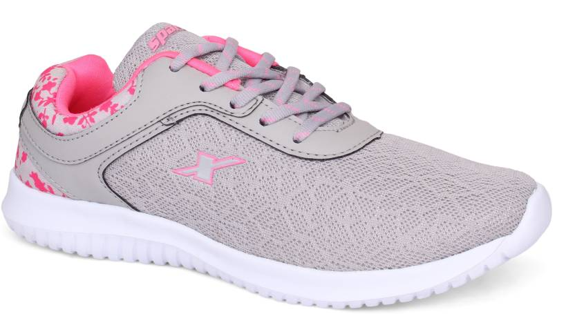 0c47e99a4debc7 Sparx Women SL-124 Grey Pink Running Shoes For Women - Buy Sparx ...