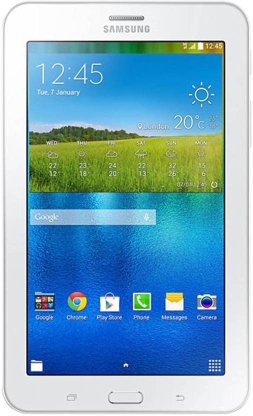 Samsung Galaxy Tab 3 V SM T116NY Single Sim Tablet 8  GB 7 inch with Wi Fi+3G Tablet