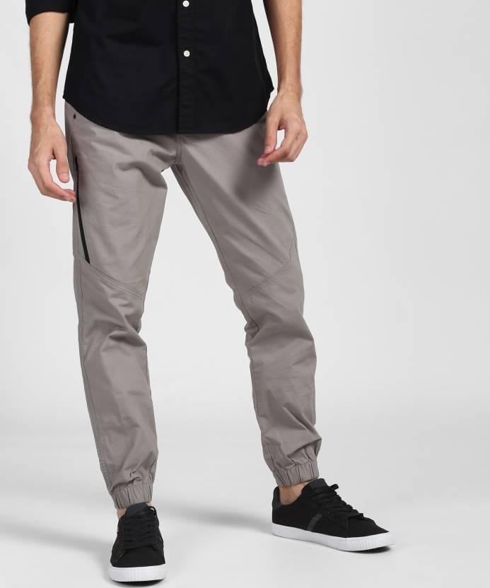 6b3c0c44 Denizen from Levi's Regular Fit Men Grey Trousers - Buy Denizen from Levi's  Regular Fit Men Grey Trousers Online at Best Prices in India   Flipkart.com