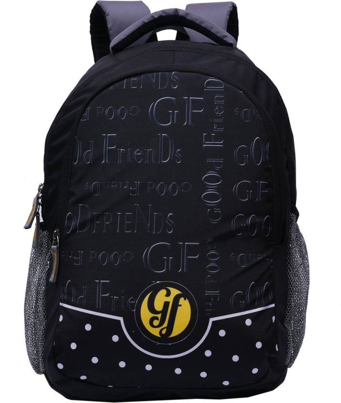 Good Friends New Model Clc Strong Waterproof School Bag (Black 90c900cddc59a