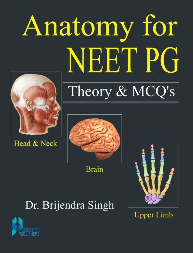 Anatomy For Neet Pg Theory And Mcqs Volume 1 2 Buy Anatomy For