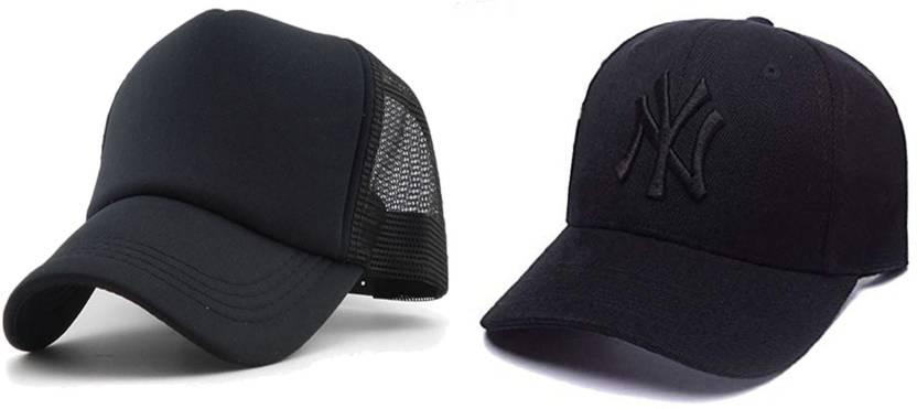 5b45469a63 AWZOME Combo Awesome Looks Black Baseball Cap - Buy AWZOME Combo ...