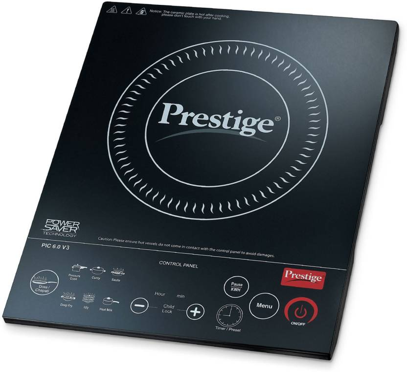 Prestige PIC 6.0 V3 2000 W Induction Cooktop