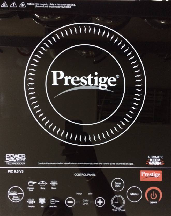 Prestige PIC 6.0V3 Induction Cooktop