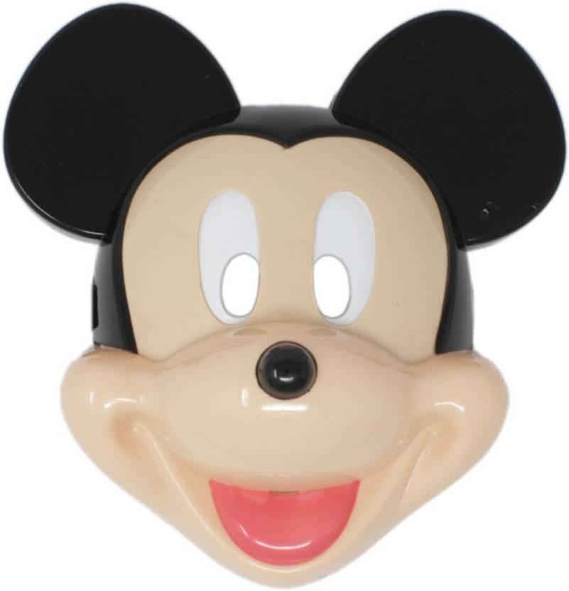 Tootpado Mouse Cartoon Face Mask With LED Light Halloween Props