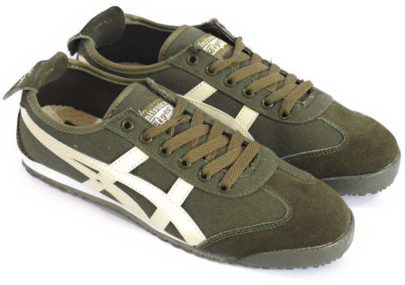 quality design 181e3 edfe5 Onitsuka Tiger Green Sneakers For Men