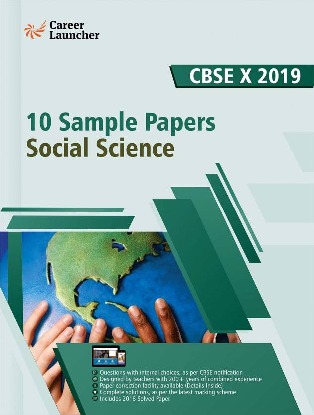 CBSE Class X 2019 : 10 Sample Papers - Social Science: Buy CBSE