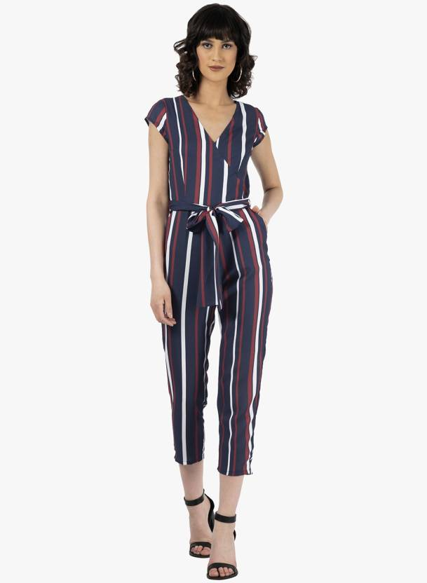 70ae09c41f7a FabAlley Striped Women Jumpsuit - Buy FabAlley Striped Women Jumpsuit Online  at Best Prices in India