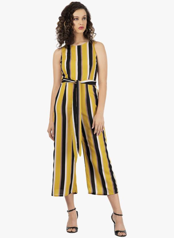 b57755c57380 FabAlley Striped Women Jumpsuit - Buy FabAlley Striped Women Jumpsuit Online  at Best Prices in India