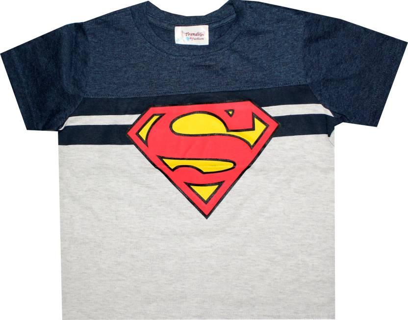 7670181491cc TrendiGo Fashion Boys Printed Cotton T Shirt Price in India - Buy ...