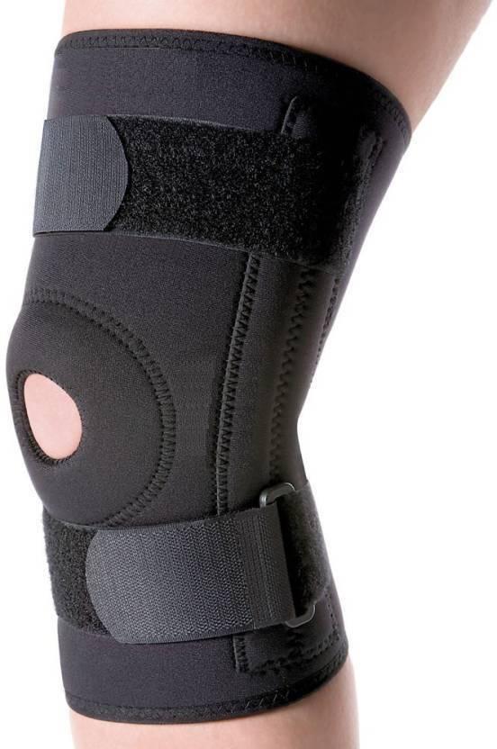 3a2bb8b6ab9b Konex Knee Support Knee Cap Gym Knee Support Knee Guard-Free Size  (Black/Blue) Pack of 1 Ankle Support (Free Size, Brown) - Buy Konex Knee  Support Knee Cap ...