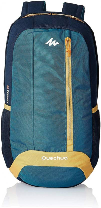18d35c9ed6a2 Quechua by Decathlon HIKING BACKPACK 20 LITRE NH100 - BEIGE BLUE Waterproof  Backpack (Blue