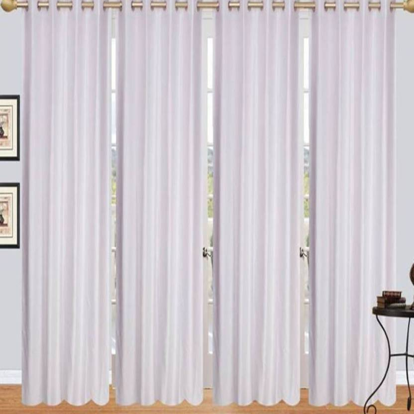 sasa homes 152 5 ft polyester window curtain pack of 4 buy