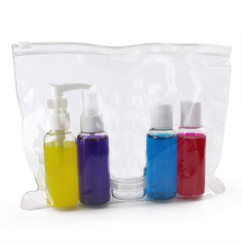 5c1611ba3f4e House of Quirk Toiletries & Cosmetic Plastic Travel Empty Bottles ...